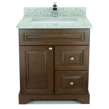 "Load image into Gallery viewer, 24"" Royalwood Damian Vanity with Topaz Quartz"