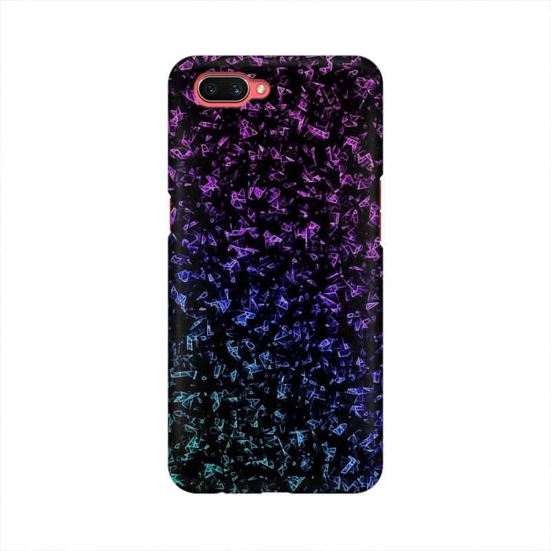 Smoke Wallpaper Mobile Cover For Oppo A3s