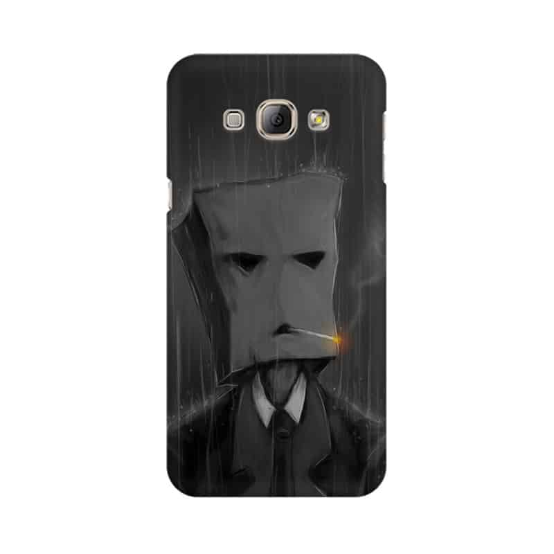 Smoking in The Rain Mobile Cover For Samsung A8