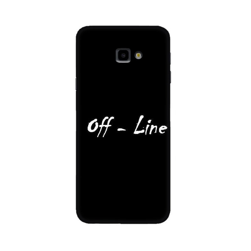 Off Line Wallpaper Mobile Cover For Samsung J4 Plus
