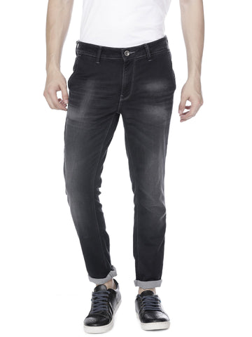 Black light mid-wash denim - Voi Jeans Pant Online