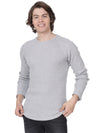 Plain grey full sleeves t-shirt - Voi Jeans Pant Online