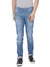 Blue biker denim with light wash - Voi Jeans Pant Online
