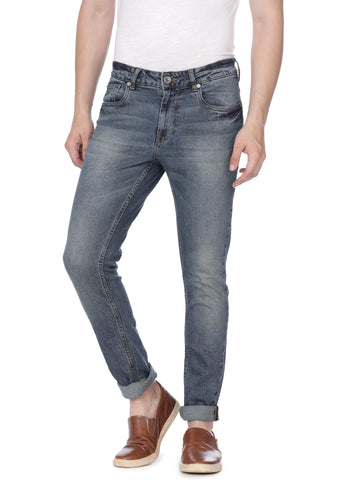 Indigo denim with light wash - Voi Jeans Pant Online