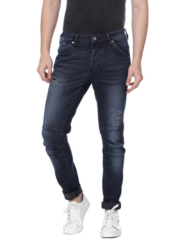 Black Jeans Pant with light wash - Voi Jeans Pant Online