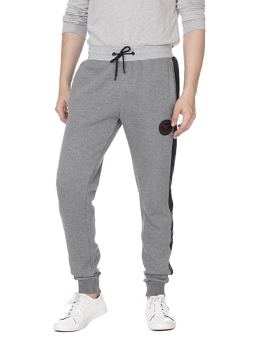 Grey with black side detail track pants - Voi Jeans Pant Online