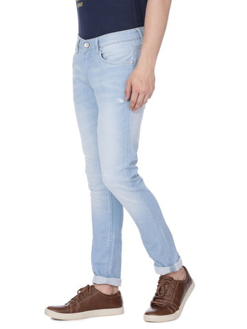 Ice blue denim - Voi Jeans Pant Online