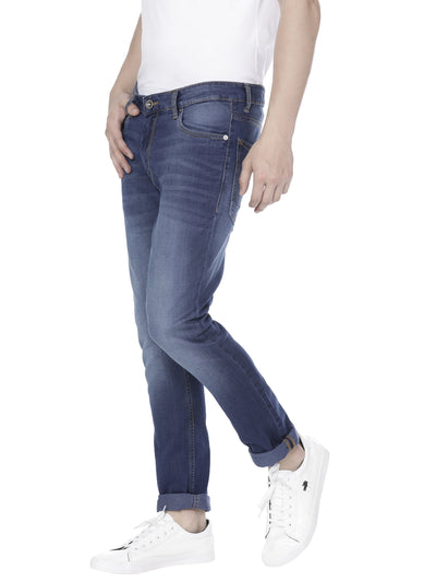 Mid-blue skinny Jeans Pant - Voi Jeans Pant Online
