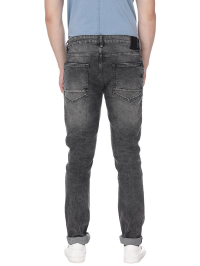 Light grey denim with light wash - Voi Jeans Pant Online