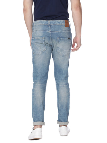 Blue slim twist denim - Voi Jeans Pant Online