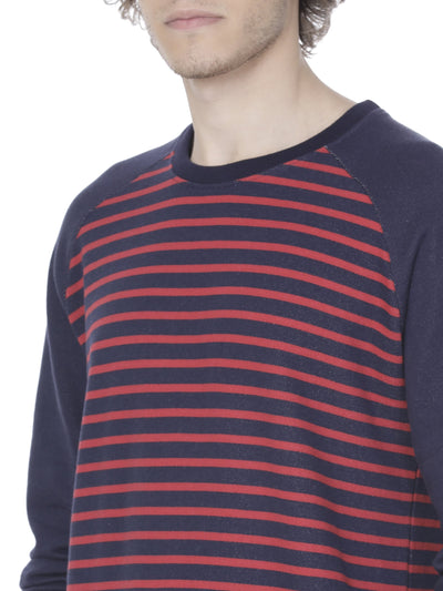 Navy and red sweatshirt - Voi Jeans Pant Online