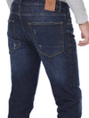 Mid blue denim with light wash - Voi Jeans Pant Online
