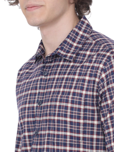 Multi checkered shirt - Voi Jeans Pant Online