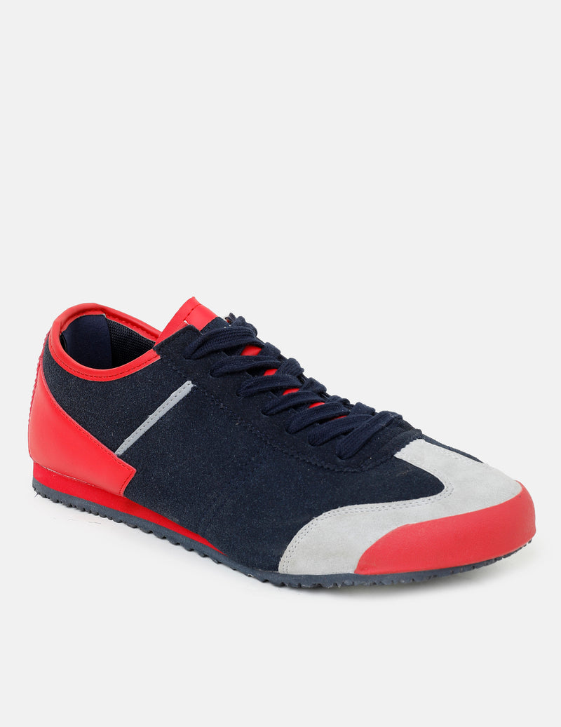 Voi Jeans Shoes - Red/Blue