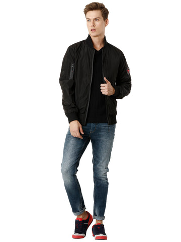 Black Poly Men's Jacket - VOI x CANADA