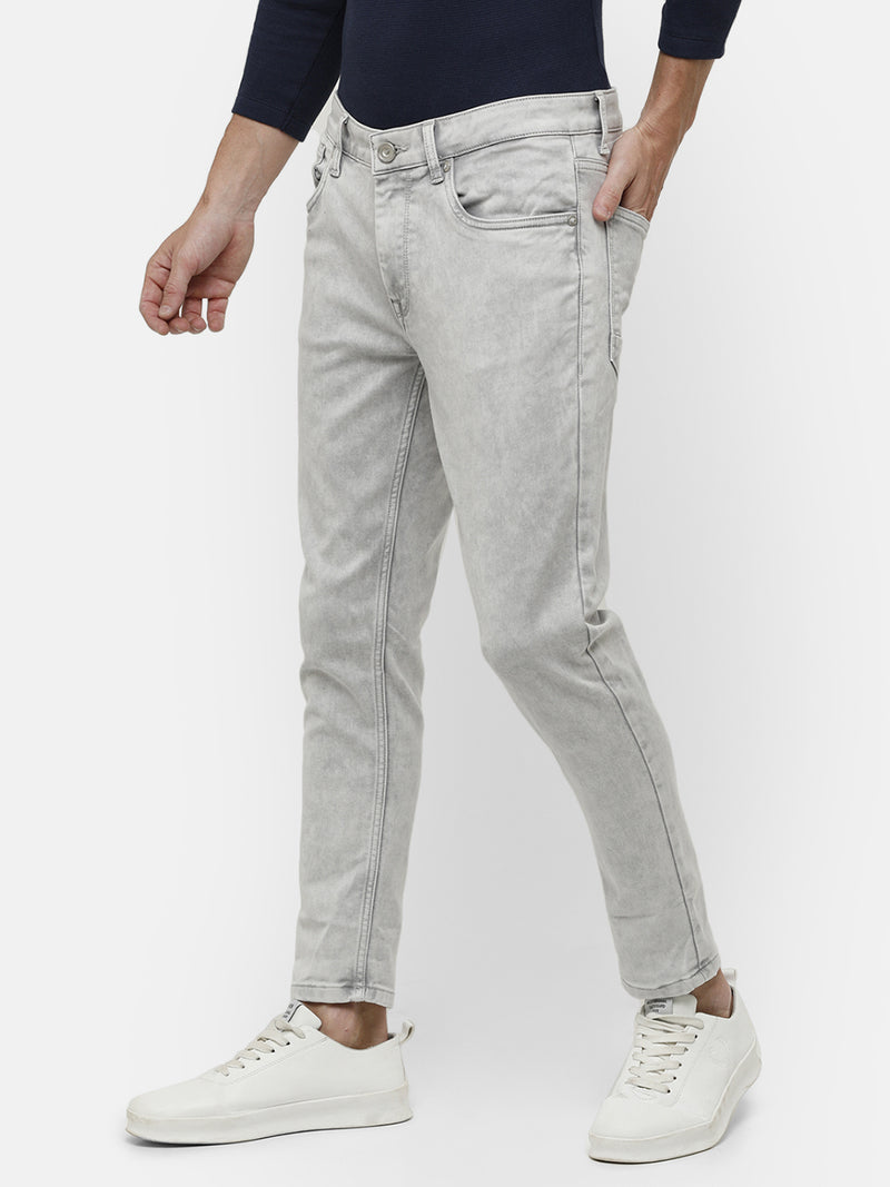 Men's light gray denim