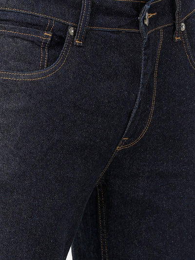 Rinse Wash Dark Indigo Denim