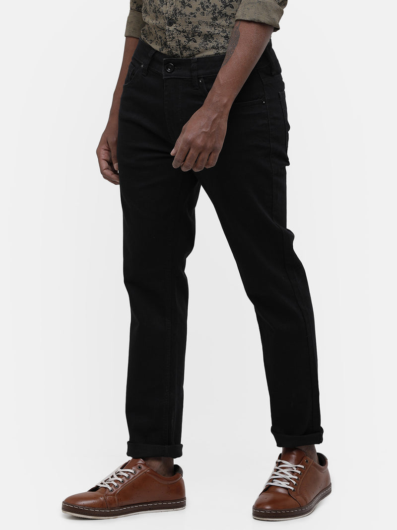 Men's Black stretch jeans