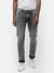 Men's random wash Gray denim