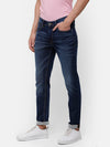 Men's Dark Blue faded Denim