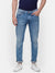 Men's Ice Blue faded denim