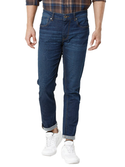 Twilled Dark Indigo Men's Denim - Jeans Pant