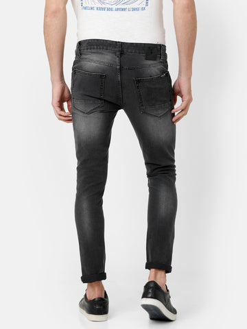 Grey Rinse Denim