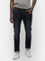 Men's Dark indigo denim with stretch