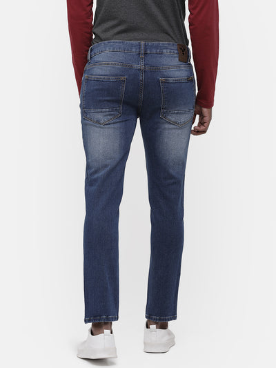 Men's Light blue faded jeans