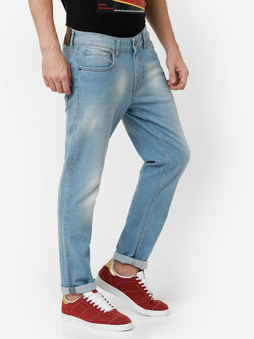 Ice blue Rinse Denim