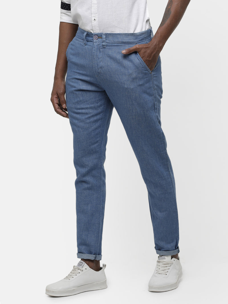 Indigo lounge trousers