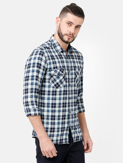 Double Pocket Check Shirt