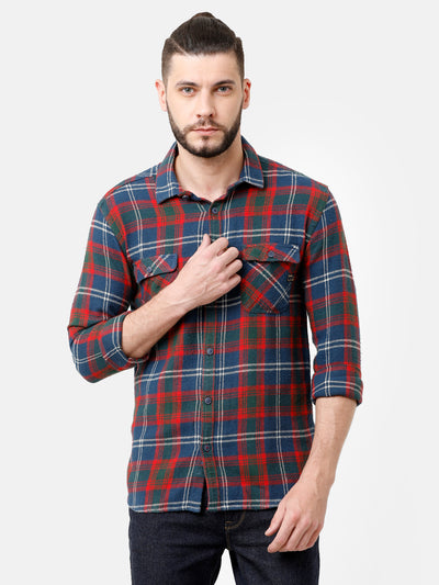 Multi Coloured Flannel Shirt