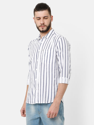 Printed Stripe Shirt