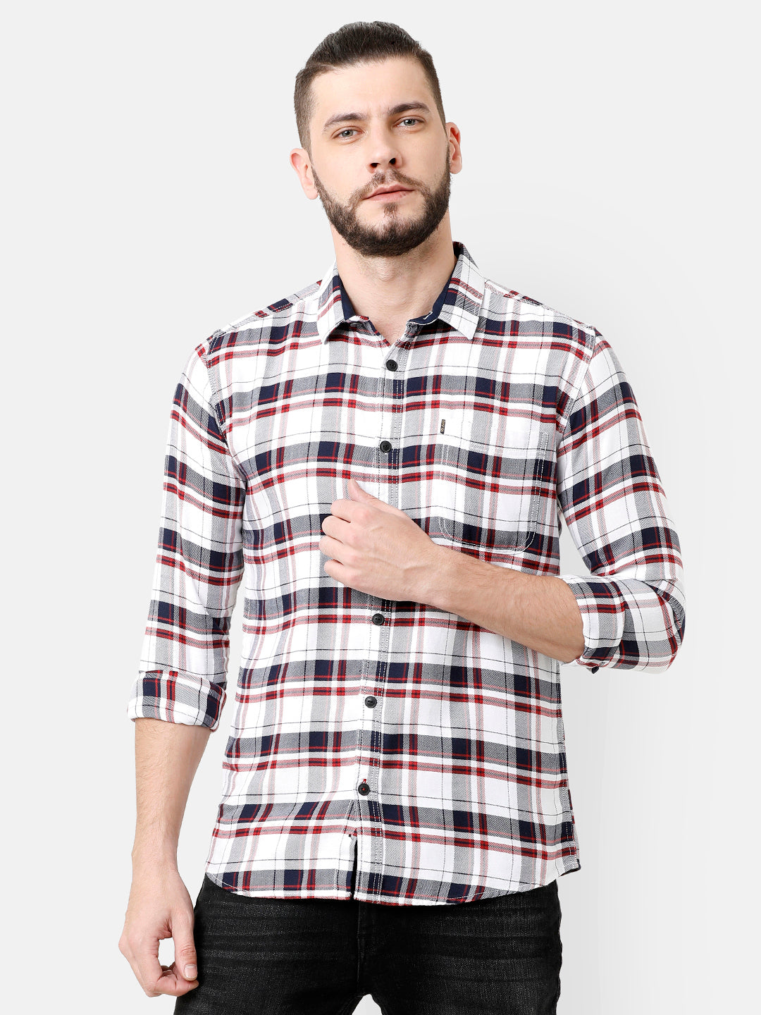 Checkered shirt