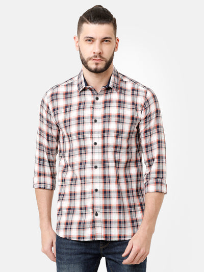 Multi Coloured Check Shirt