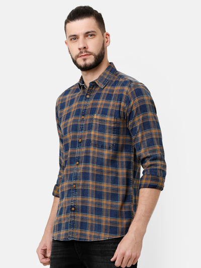Multi checkered shirt