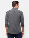 Men's Gray casual Shirt