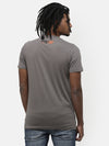 Grey Printed Graphic T-shirt