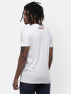 White Cut and Sew with Embroidery T-shirt