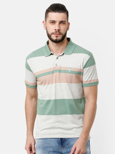 Multi-color block T-shirt