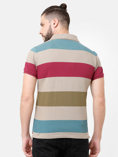 Multi-Color Striper T-shirt