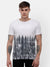 Men's Tie and Dye T-shirt with embossed logo patch on chest