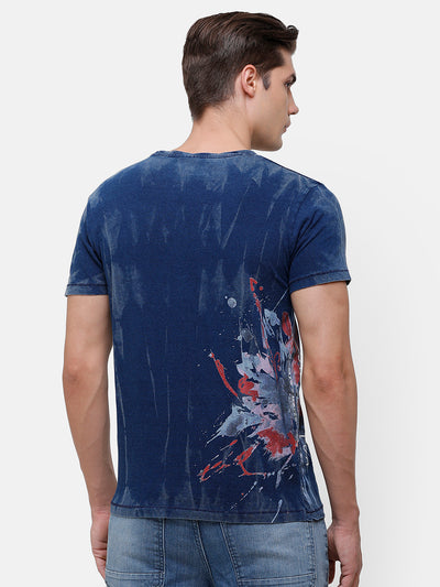 Men's Graphic Print  T-Shirt