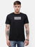 Men's Black graphic print T-shirt