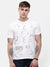 Men's White graphic T-shirt
