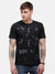 Men's Black graphic T-shirt