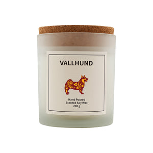 Open image in slideshow, Vallhund Scented Soy Wax Candle-Vana Candles
