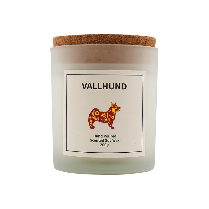 Vallhund Scented Soy Wax Candle-Vana Candles