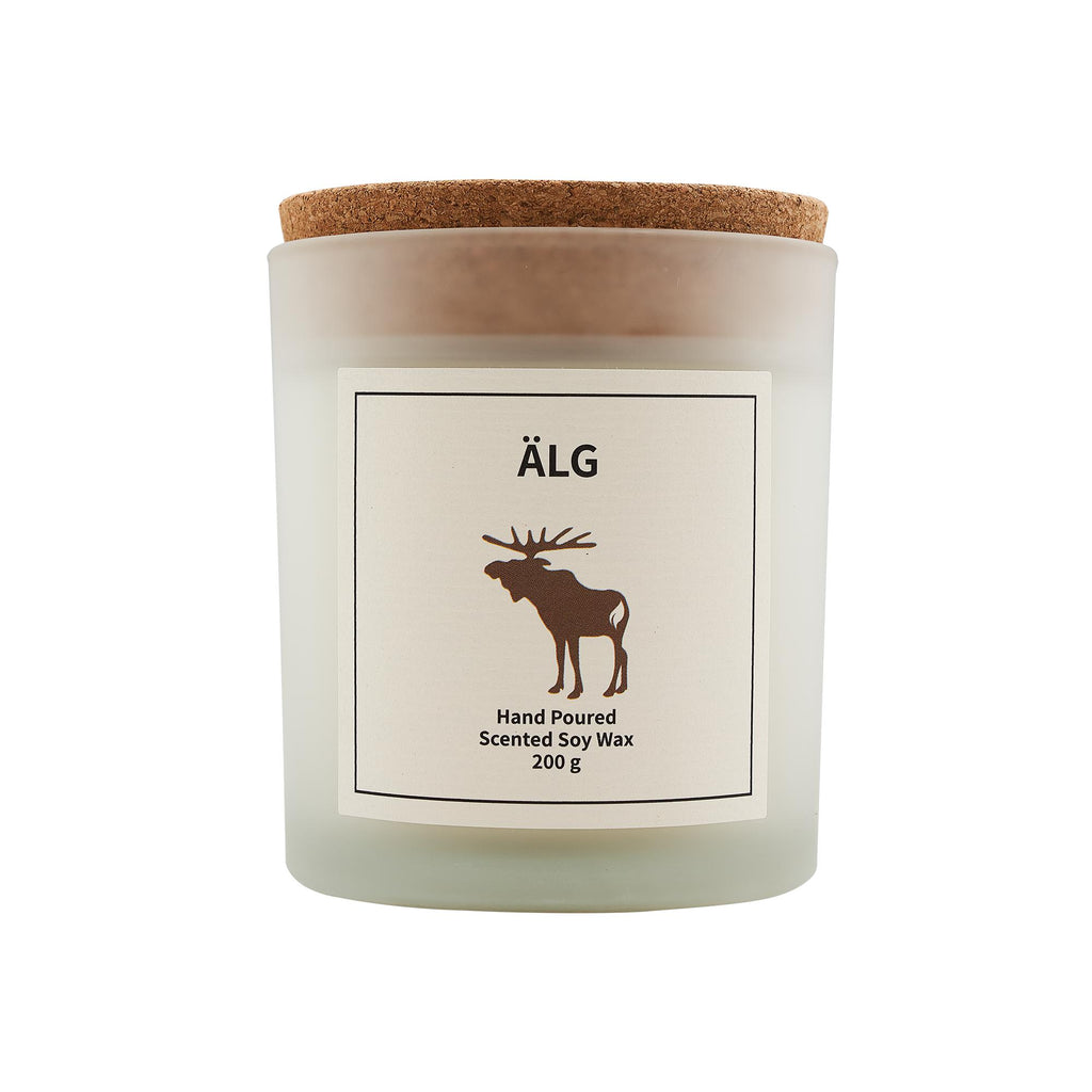 Älg Scented Soy Wax Candle-Vana Candles